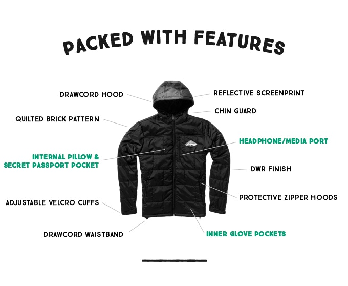 The Most Eco-Friendly All-Purpose Camper Hooded Jacket 2 0