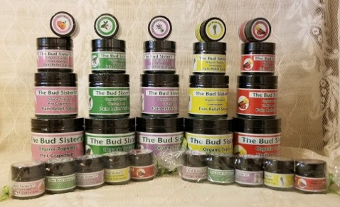 """Bud Sister's Salve Selection! """"It's the balm!"""" - $50"""