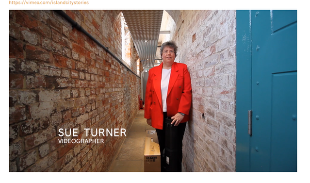 Sue Turner - image by Island City Stories