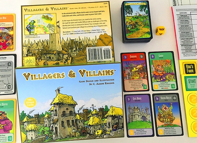 The 2nd Edition Villagers & Villains