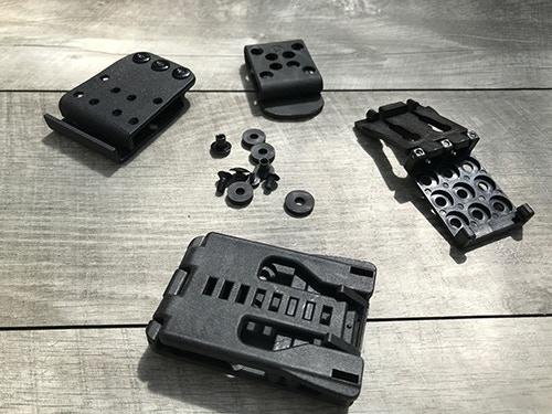 Prototype Belt Mounting Hardware