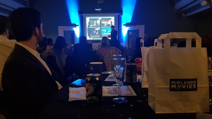 View from the table at the Awards 2018