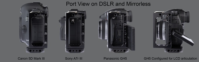 Fits all DSLR and Mirrorless types of Cameras
