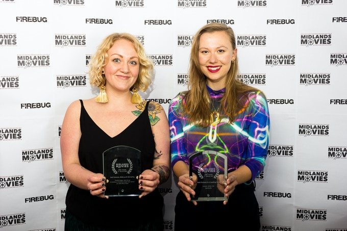 Winners at the Midlands Movies Awards 2018