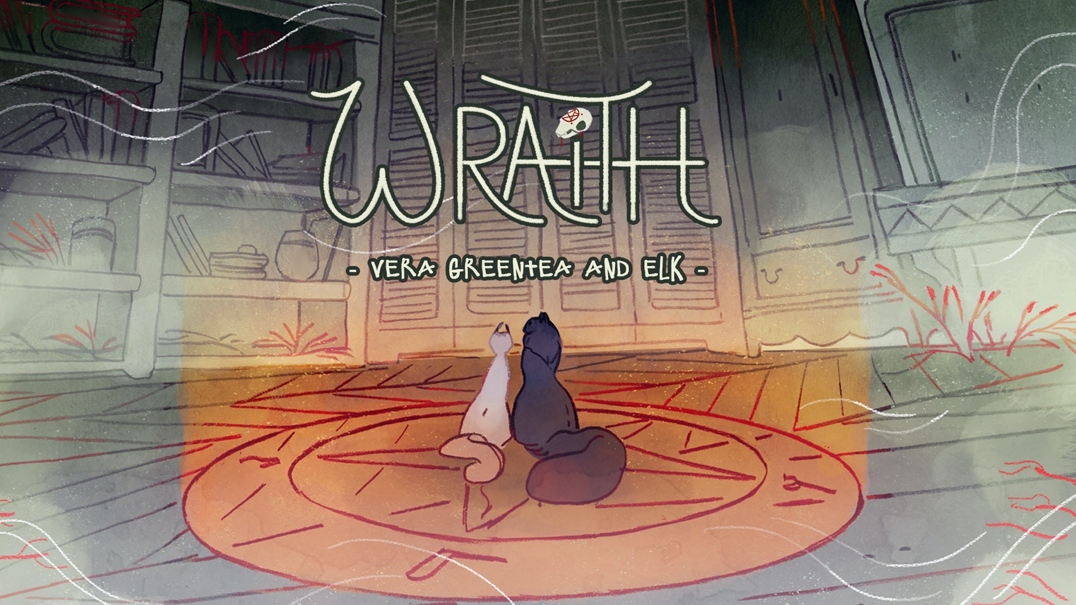 WRAITH is a spooky tale about forest animals and the haunted house they live in. Story by Vera Greentea and art by ELK. This KS is for Issue 2.