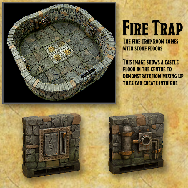 The Fire trap room
