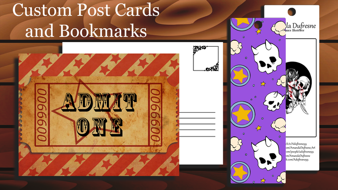 Bookmark and Post Card Rewards