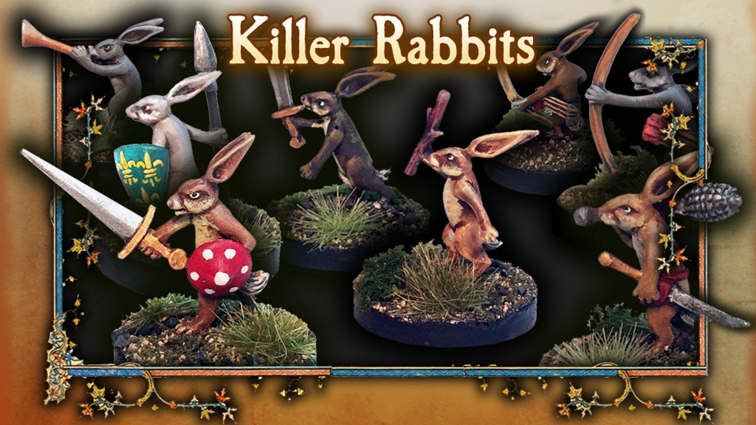 The most unexpected enemy! The most vindictive, and surprising foes to challenge your players on the tabletop. Killer Rabbits!