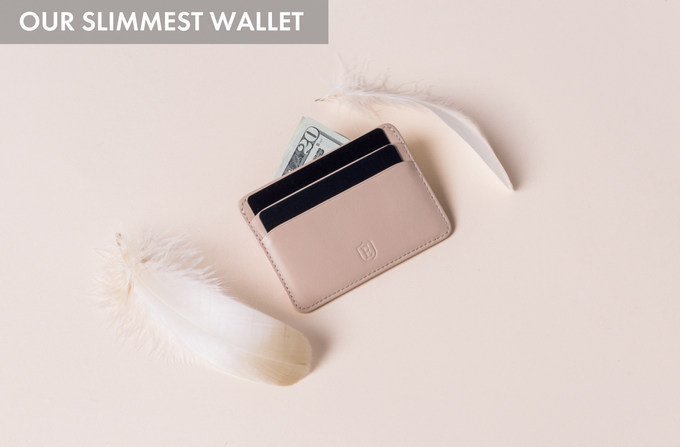 For those who need less space, we've released the Secretary Cardholder as a Kickstarter exclusive launch.