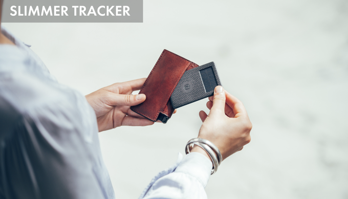 "We've partnered with the creators of the slimmest and loudest trackers to date, Chipolo®. At just 0.09"" (0.24cm) our new tracker slips easily into your wallet, not taking up too much space, disguised as a card."