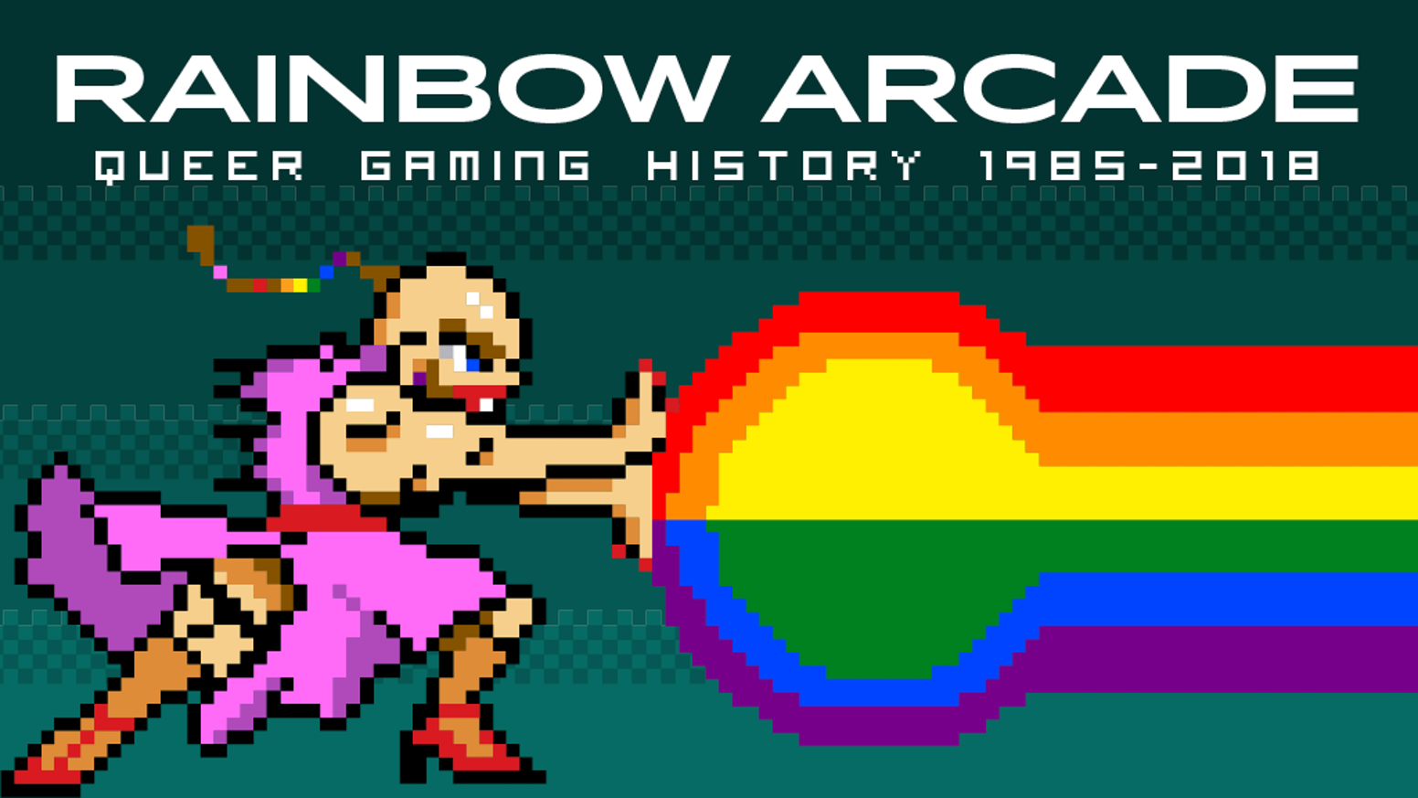 Help us create a catalog for RAINBOW ARCADE, the world's first exhibition on LGBTQIA*  video game history at Schwules Museum Berlin.