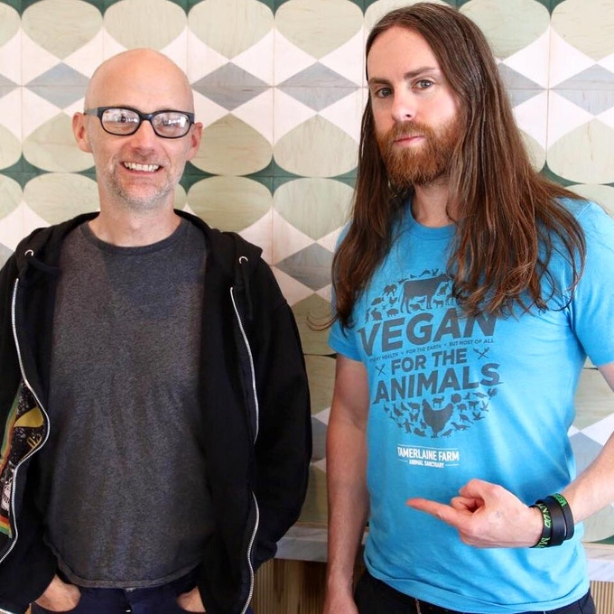 Moby confirmed that he is donating music for the movie A44!
