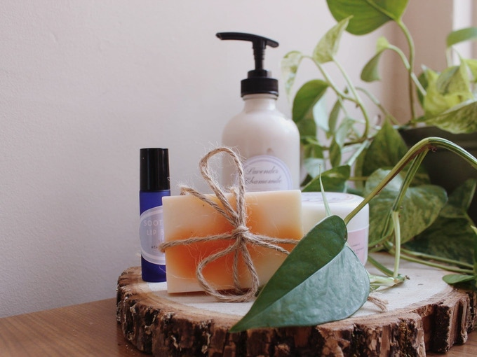 Healing Spring Gifts: Natural, hand-made products. Many of these are included in the rewards for backing us!