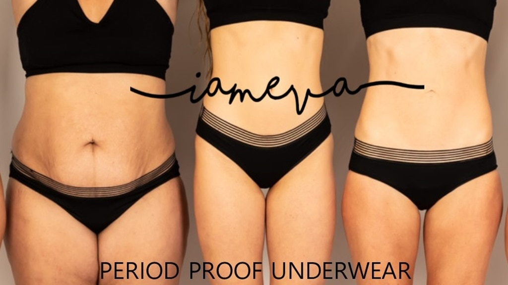 I AM EVA - Period Proof Underwear project video thumbnail