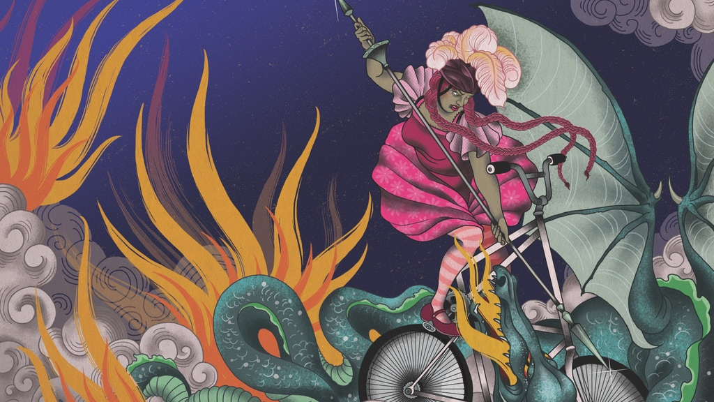 Dragon Bike: Fantastical feminist bicycle stories project video thumbnail