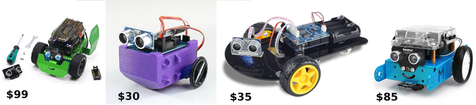 LittleBot Budget with Other Comparable Kits