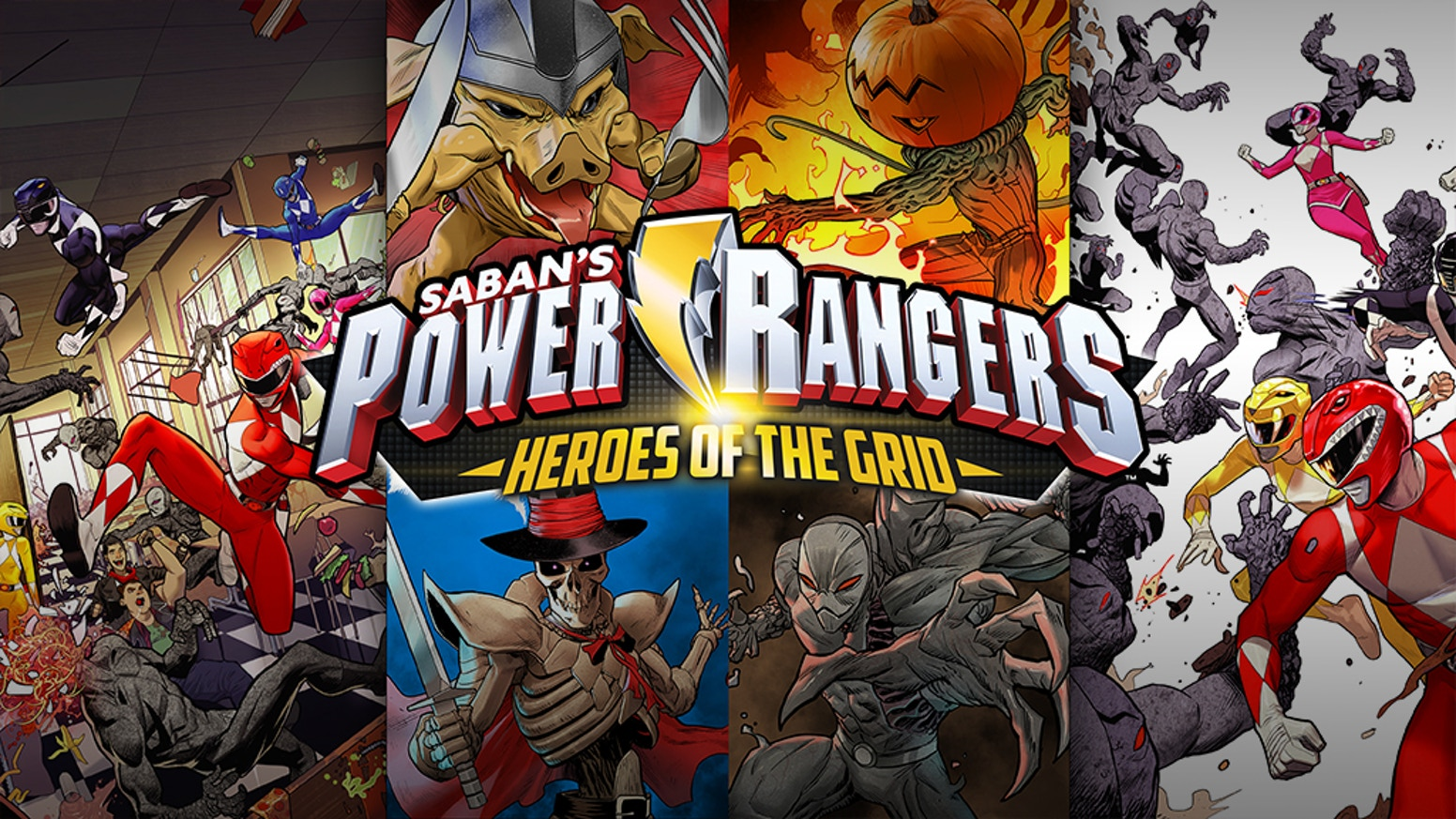 power rangers heroes of the grid board game by renegade game