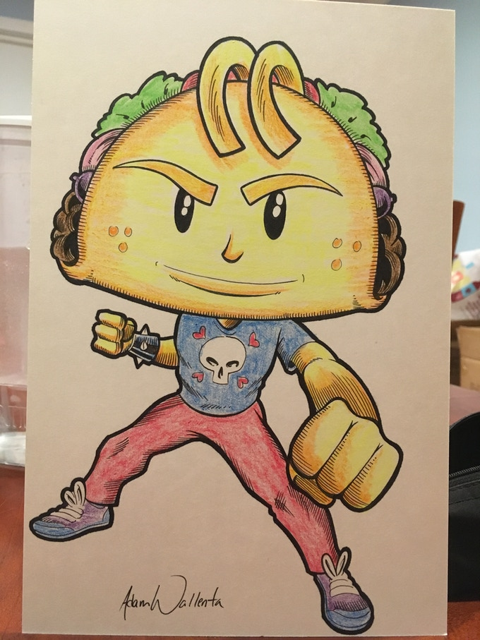 Punk Taco is ready to fight the power!