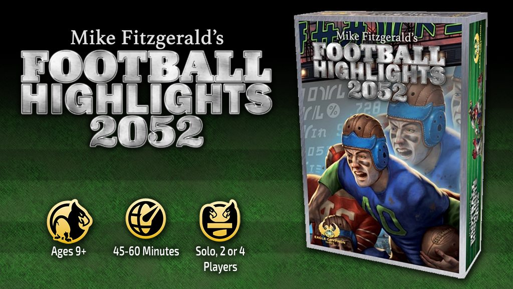 Football Highlights 2052 – Mike Fitzgerald's New Card Game! project video thumbnail
