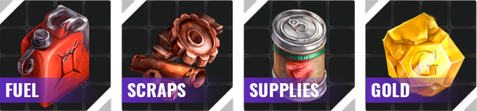 In the future basic supplies allow you to survive another day!