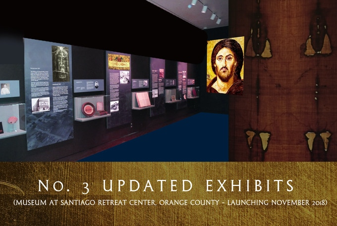 No. 3 Updated Exhibits at The Shroud Center Museum