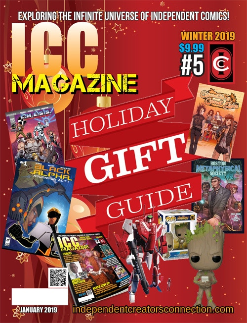 December 2018/January 2019 - ICC Magazine #5, appearing in Previews Catalog