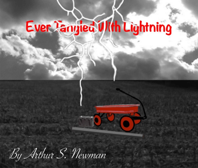 Ever Tangled With Lightning Partial Cover