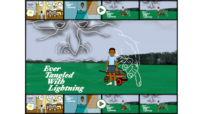 Ever Tangled With Lightning Illustrated and Interactive