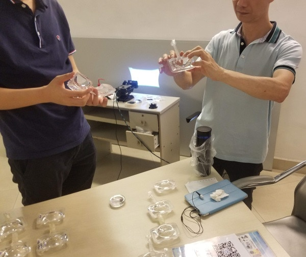 Reviewing the latest optics quality with our current supplier.