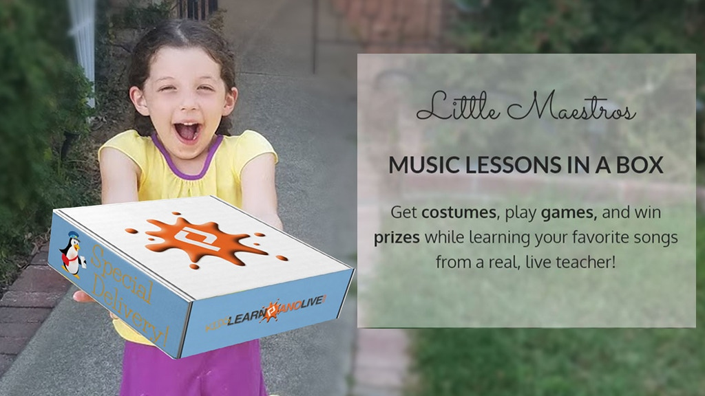 Music Lessons In A Box! Online lessons with subscription box