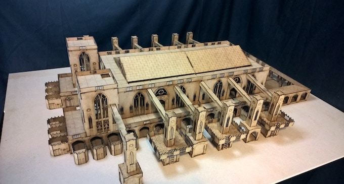 Kickstarter exclusive cathedral deal pledge