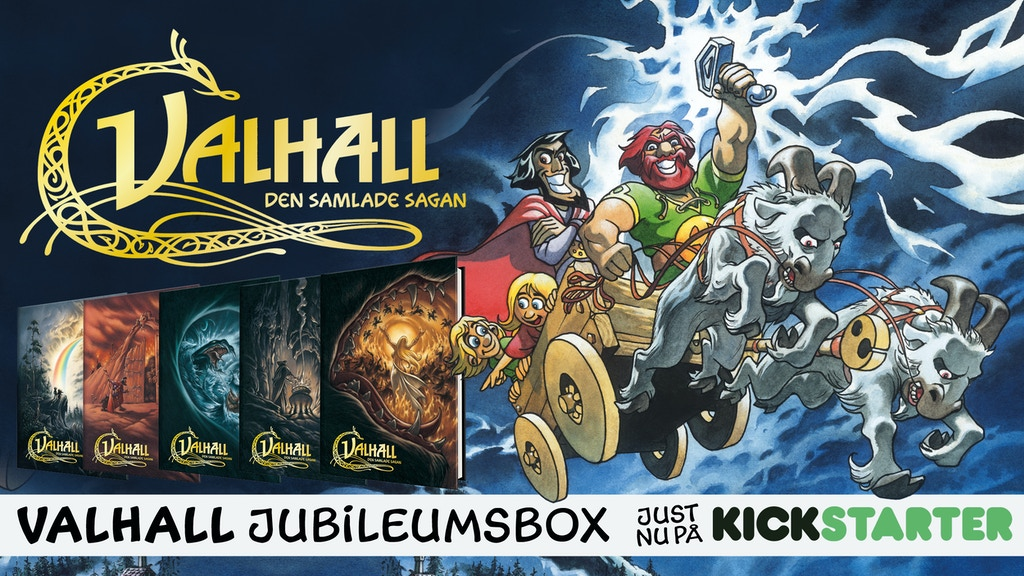 Valhall – jubileumsbox project video thumbnail
