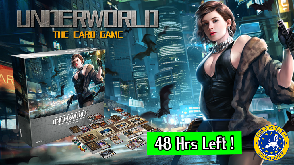 UnderWorld: The Card Game - Expand Your Imagination ! project video thumbnail