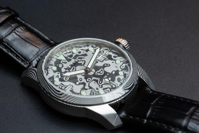 Silver Damascus