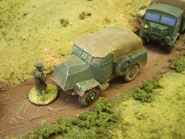 CMP CT15 ARMOURED TRUCK