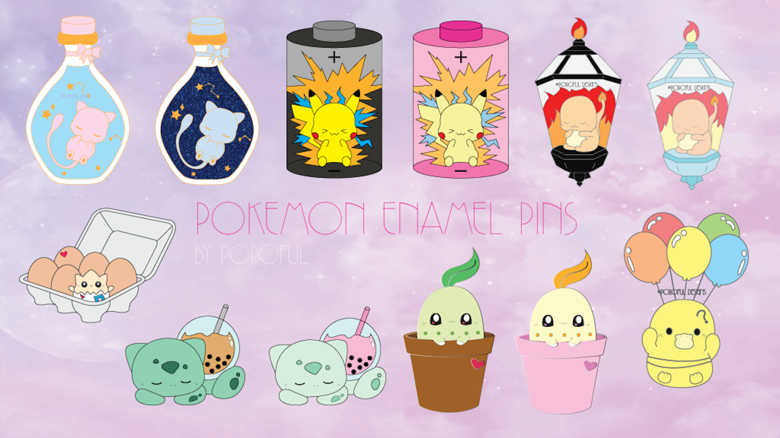 Cute Pokemon Pins to add to your collection
