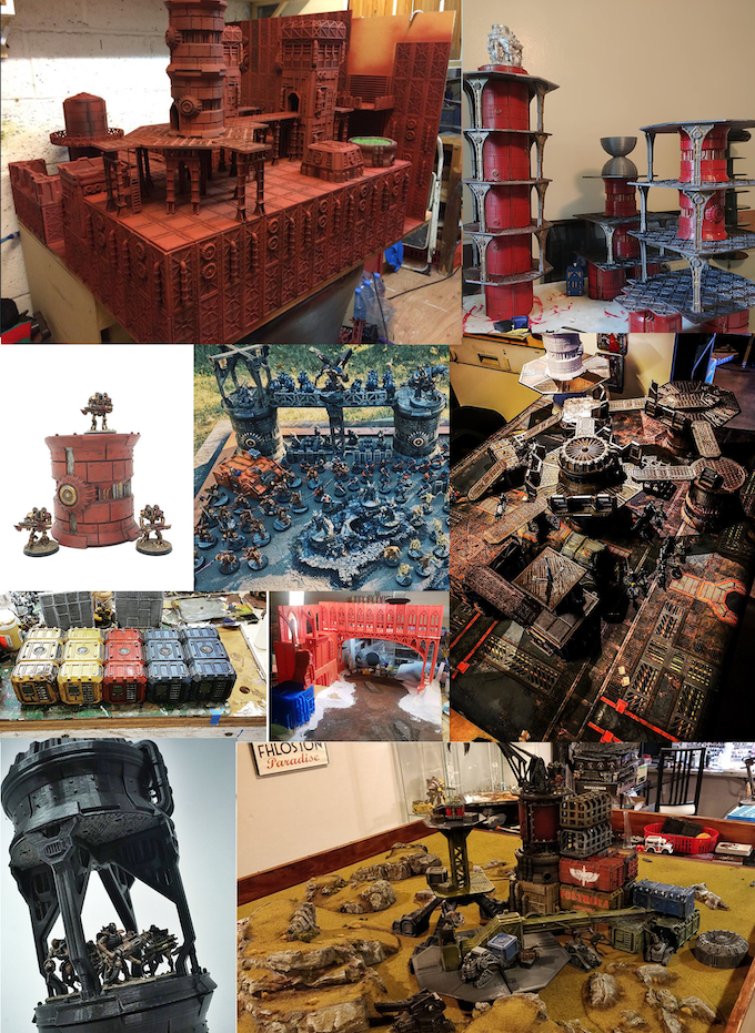 A small collection of great work by previous backers. There is too much awesomeness out there.