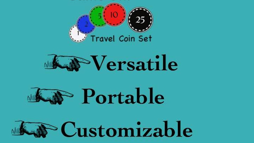 Project image for Game ON! Travel Coin Set