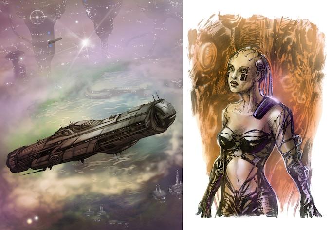 Two Print Rewards By Artist George Todorovski.