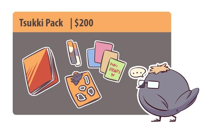 Tsukki Pack