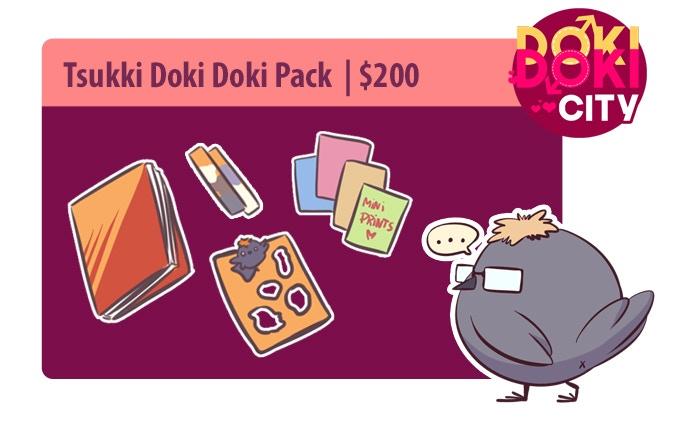 Tsukki Doki Doki Pack