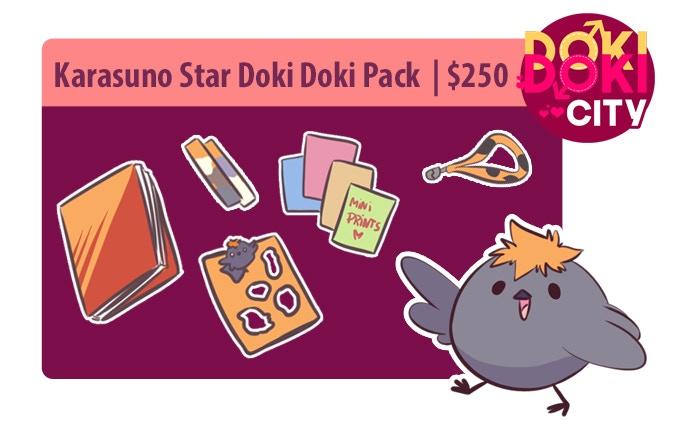 Karasuno Star Doki Doki Pack