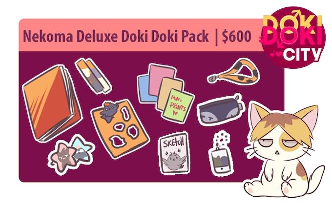 Nekoma Deluxe Doki Doki Pack