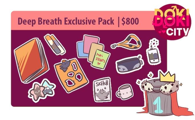 Deep Breath Exclusive Pack