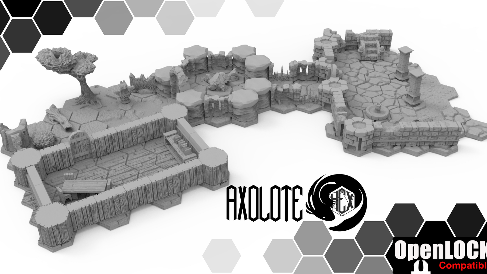 Axolote Hex: 3d hex dungeons by Axolote Gaming — Kickstarter