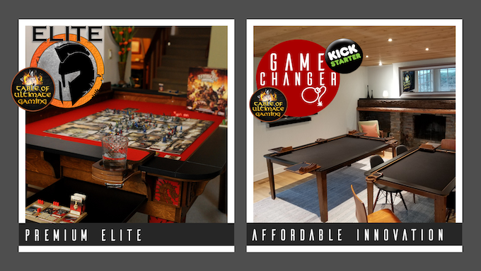 GameChanger Huge X Board Gaming Table And More By Wood Robot - Restaurant table toppers