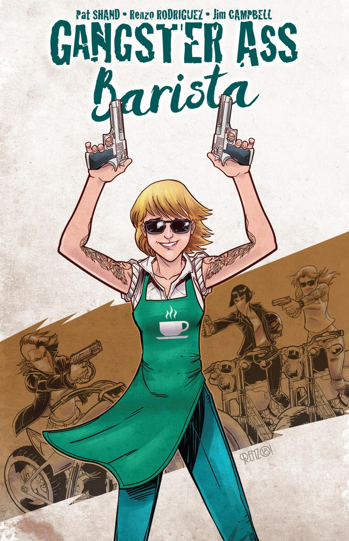 Gangster Ass Barista standard cover by Renzo Rodriguez