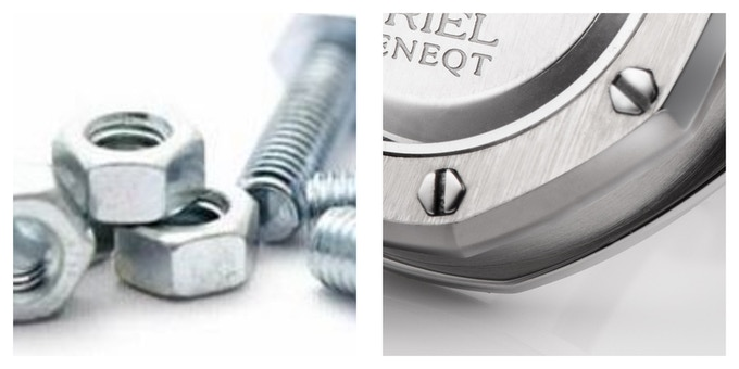 Nuts and bolts screw inspiration