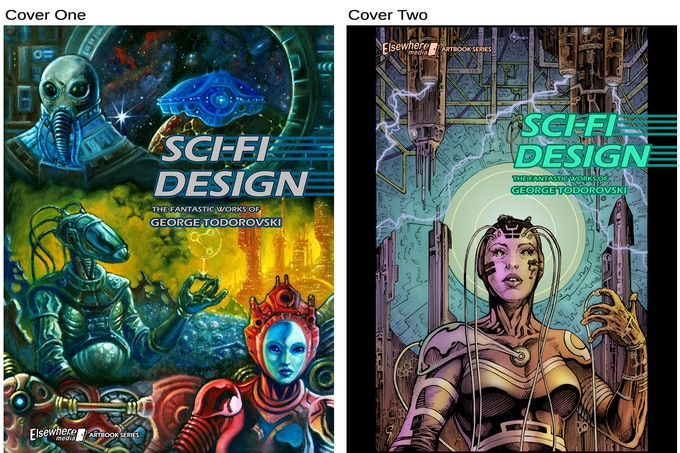 Your Choice Of Two Alternate Covers.