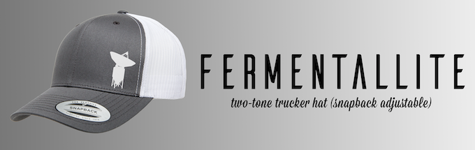 #6 - Trucker Hat w/ Adjustable Snapback (Grey and White)